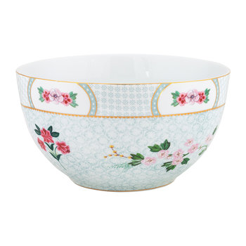 Blushing Birds Cereal Bowl - 18cm - White