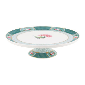 Blushing Birds Cake Stand - Blue