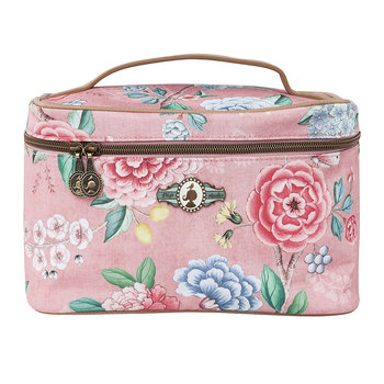 Good Morning Square Beauty Case - Pink
