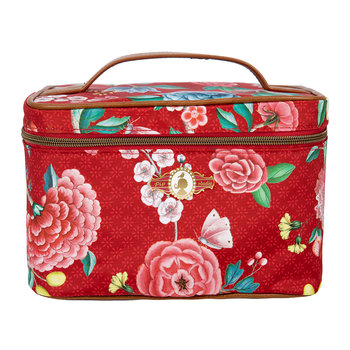 Good Morning Square Beauty Case - Red