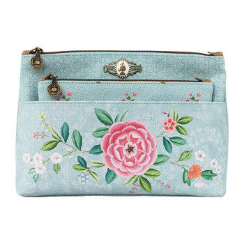 Good Morning Cosmetic Bag - Blue
