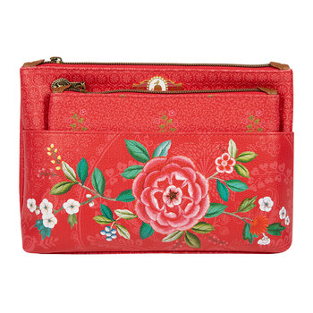 Good Morning Cosmetic Bag - Red