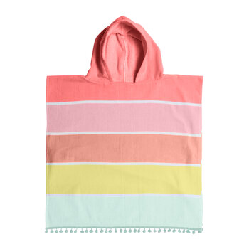 Children's Hooded Fouta Towel - Pink