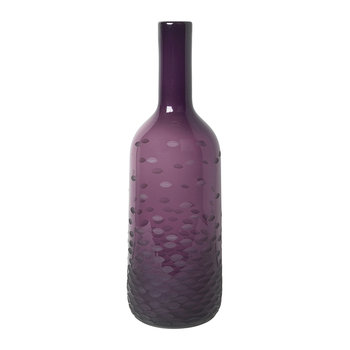 'Atle' Mouthblown Glass Vase - Port Royale