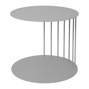 Tone Steel Side Table - Drizzle