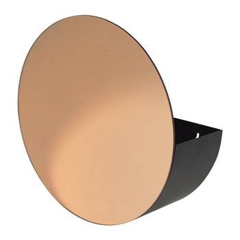 Storage Mirror - Black/Rose