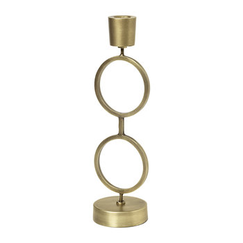 Ojvin Candlestick - Antique Brass