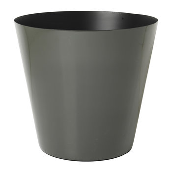 Lauge Iron Flowerpot - Dusty Olive