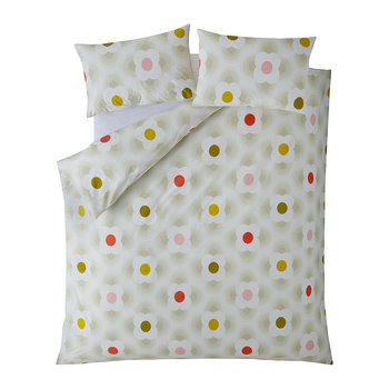 Striped Petal Duvet Cover - Multi Spot