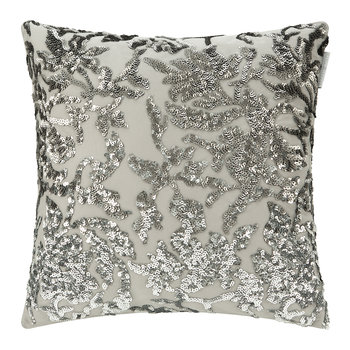 Angelina Bed Pillow - 45x45cm - Truffle