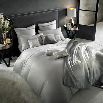 Messina Duvet Cover - Quartz