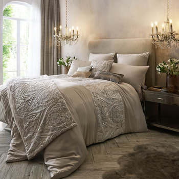 Savoy Duvet Cover - Blush