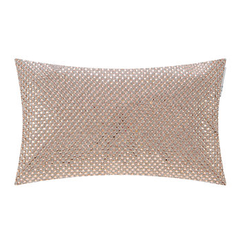 Novello Bed Cushion - 18x32cm - Blush