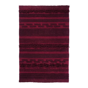 Air Washable Rug - 140x200cm - Savannah Red