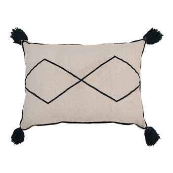 Bereber Washable Cushion - Natural - 55x40cm