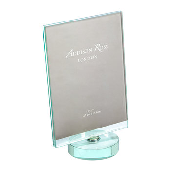 "Rotating Glass Photo Frame - 5x7"" - Portrait"