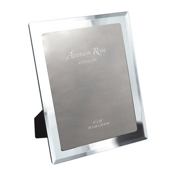 Bevelled Edge Glass Photo Frame - 8x10""