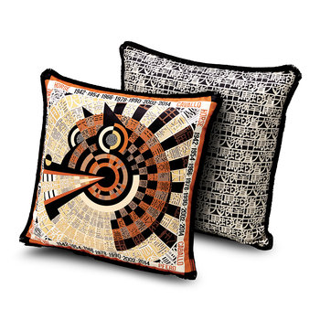 Oroscopo Reversible Cushion - 40x40cm - Horse