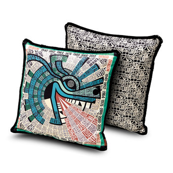 Oroscopo Reversible Cushion - 40x40cm - Dragon