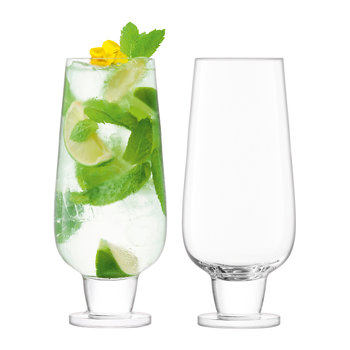Rum Mixer Glass - Set of 2