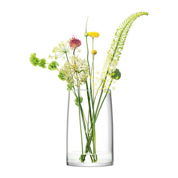Stems Vase/Lantern - Clear