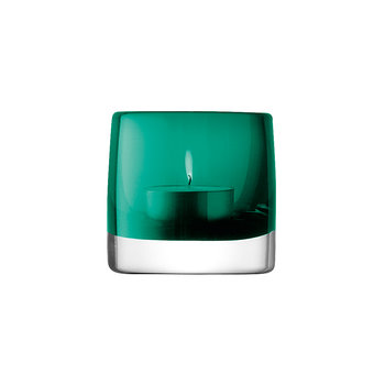 Stems Tealight Holder - Marine Green