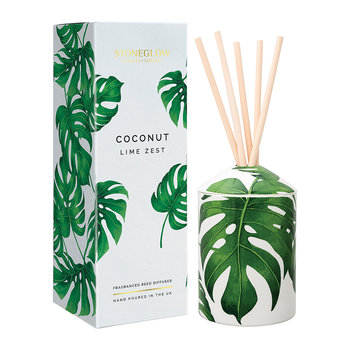Urban Botanics Reed Diffuser - 200ml - Coconut & Lime Zest