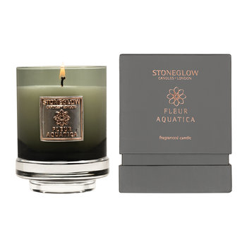 Métallique Collection Tumbler Candle - Fleur Aquatica