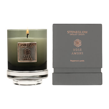 Métallique Collection Tumbler Candle - Rose Ambre
