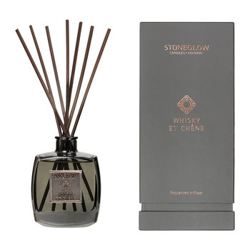 Métallique Collection Reed Diffuser - 200ml - Whisky Et Chêne