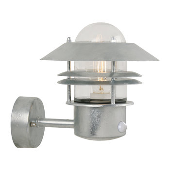 Blokhus Sensor Outdoor Wall Light - Galvanized Steel