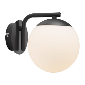 Grant Wall Light - Opal White/Black