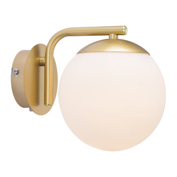 Grant Wall Light - Opal White/Brass