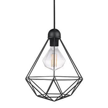 Tees Black Pendant Light