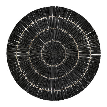 Mendong Placemat - Set of 4 - Black