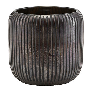 Utla Planter - Brown/Black