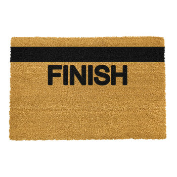 Finish Line Door Mat