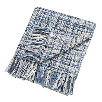 Usoko Knitted Throw - Blue - 130x180cm