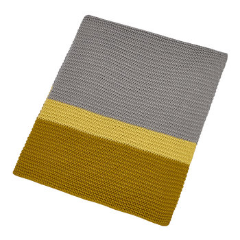 Espinillo Knitted Throw - 130x170cm - Turmeric