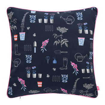 Cottage Garden Floral Cushion - Comet - 40x40cm