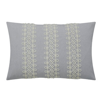 Coussin Chiswick Grove - Argent - 50x30cm