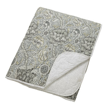 Wandle Quilted Throw - Gray - 265x260cm