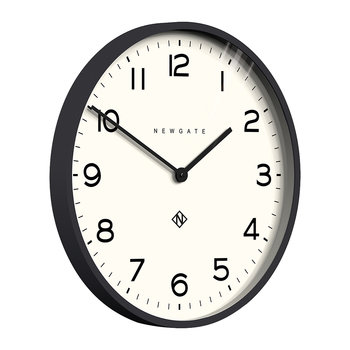 Number One Echo Wall Clock - Black