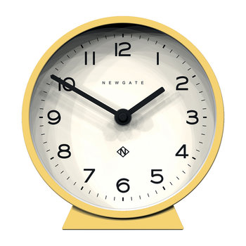 M Mantel Clock - Cheeky Yellow