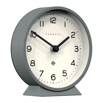 M Mantel Clock - Posh Grey