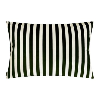 Stripe Cushion - Black/Cream - 50x70cm