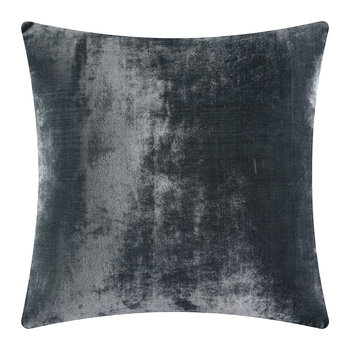 Paddy Velvet Cushion - 50x50cm - Slate