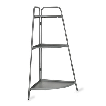 Corner Plant Stand - Charcoal