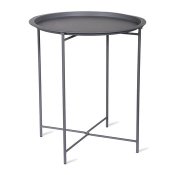 Rive Droite Bistro Tray Table - Charcoal