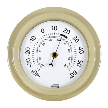 Tenby Thermometer - Clay - 8 Inch